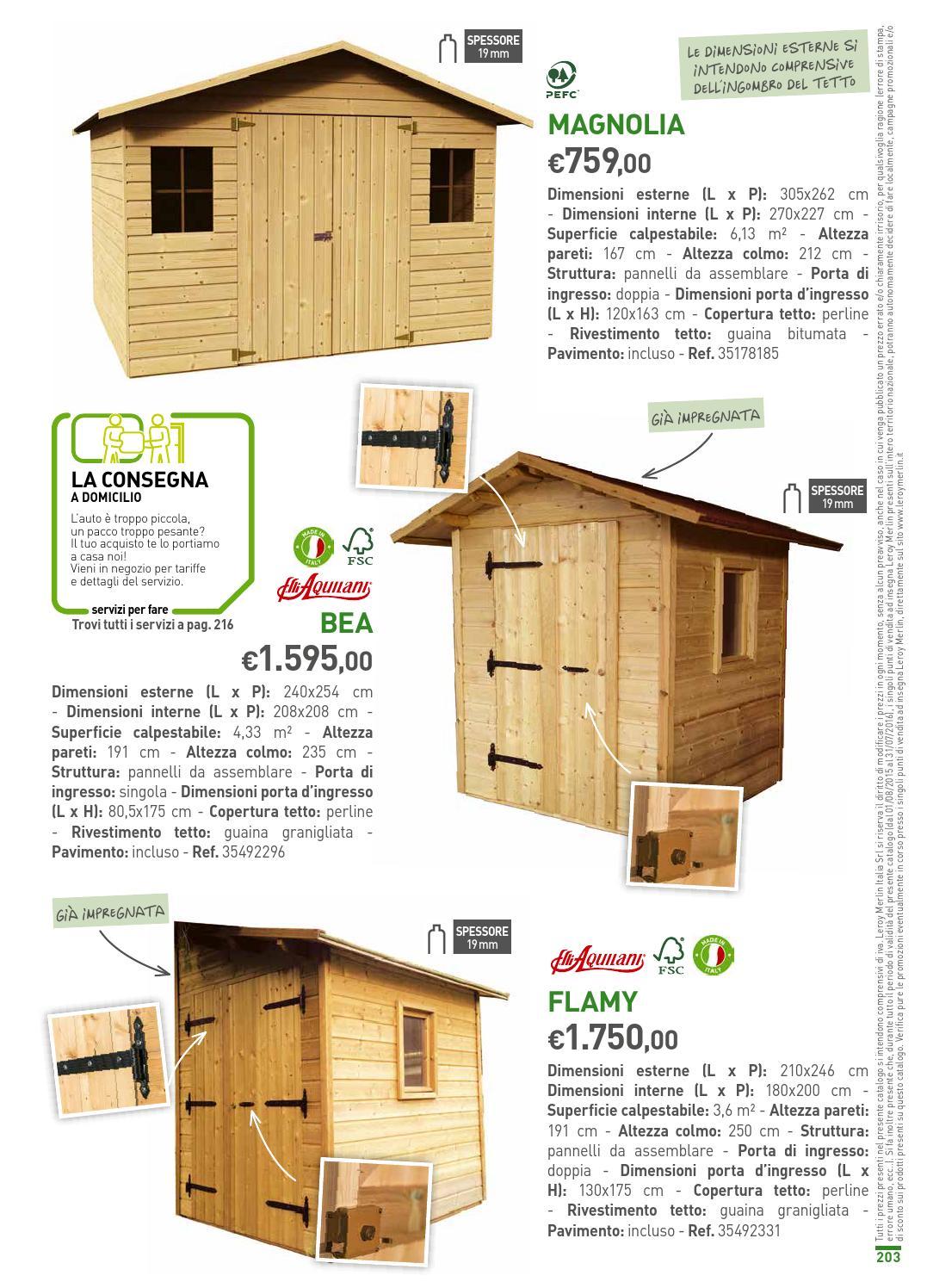 Dimensioni Porta Ingresso Casa leroy merlin volantino2015 2016 by catalogopromozioni