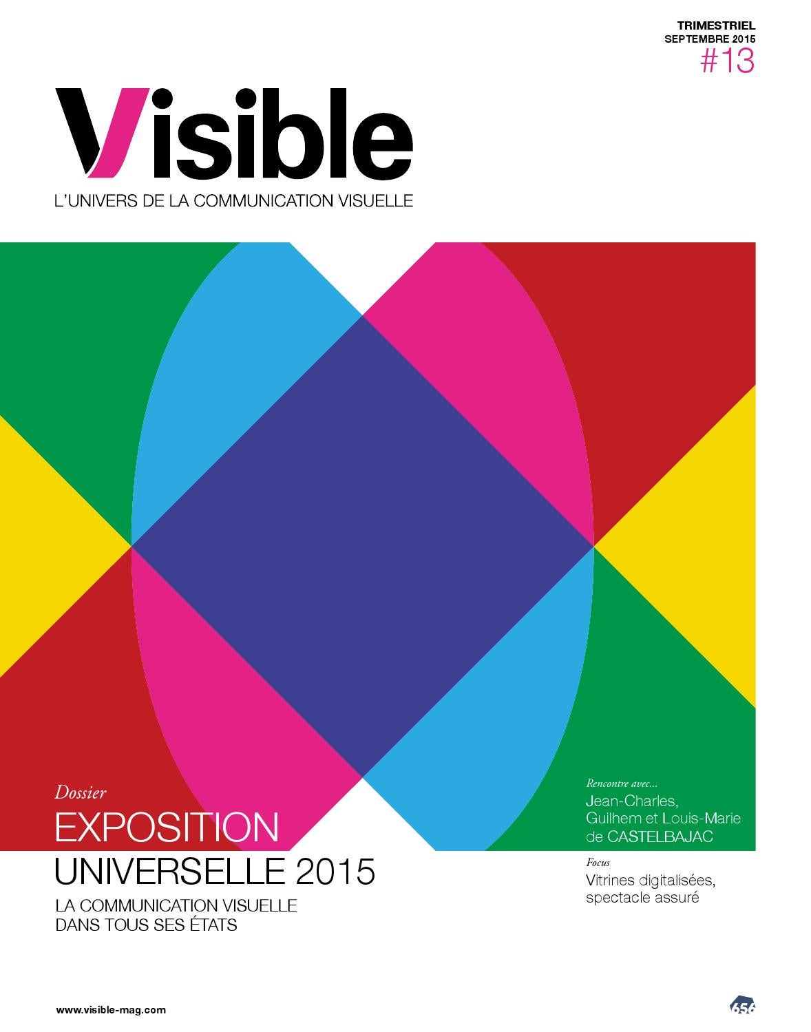 Visible  13 by 656 Editions - issuu 56e9df7b97d