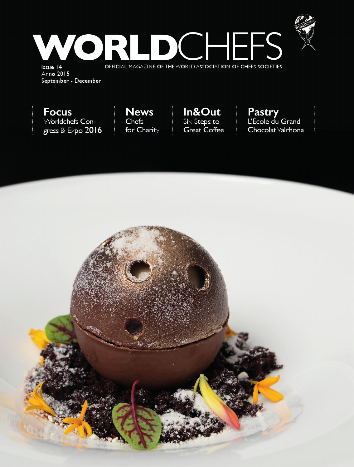 a2410577d5 Worldchefs magazine issue 14 by World Association of Chefs Societies ...