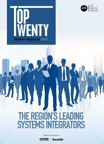 Top Twenty - Systems Integrators 2015
