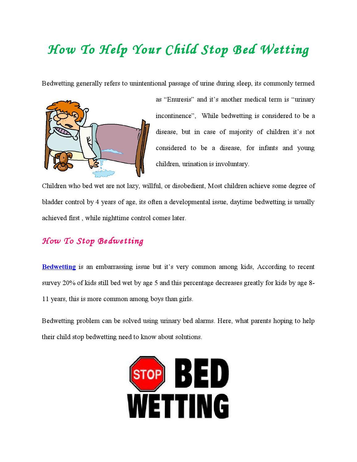 Drybuddy Bedwetting Alarms By Drybuddy Issuu