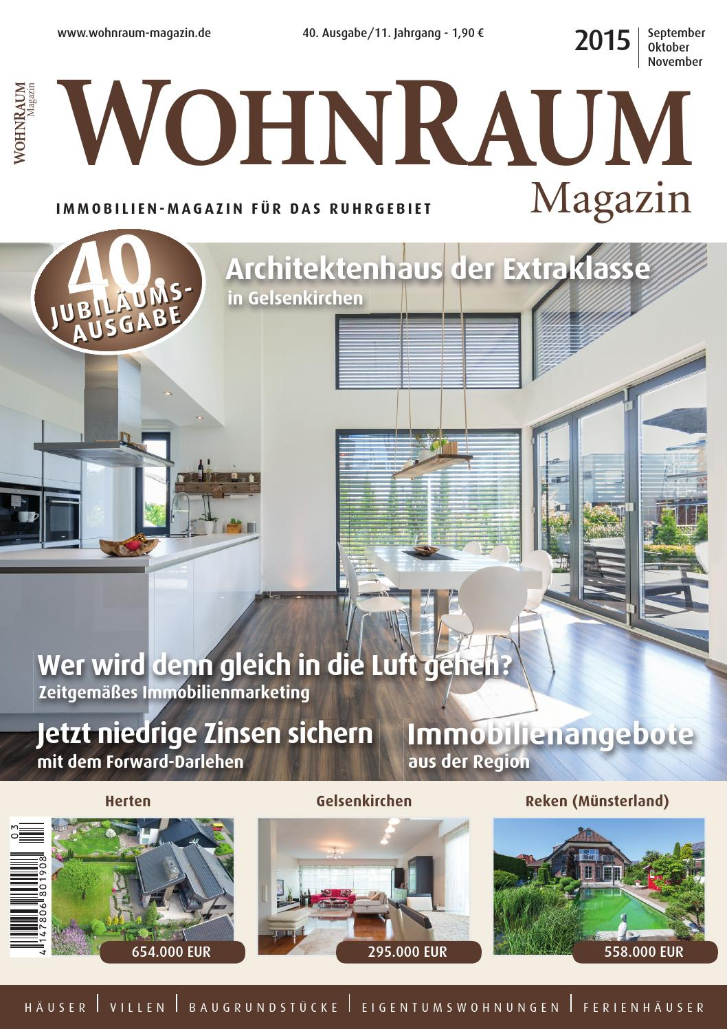 40 ausgabe wohnraum magazin by hundt media verlag issuu. Black Bedroom Furniture Sets. Home Design Ideas