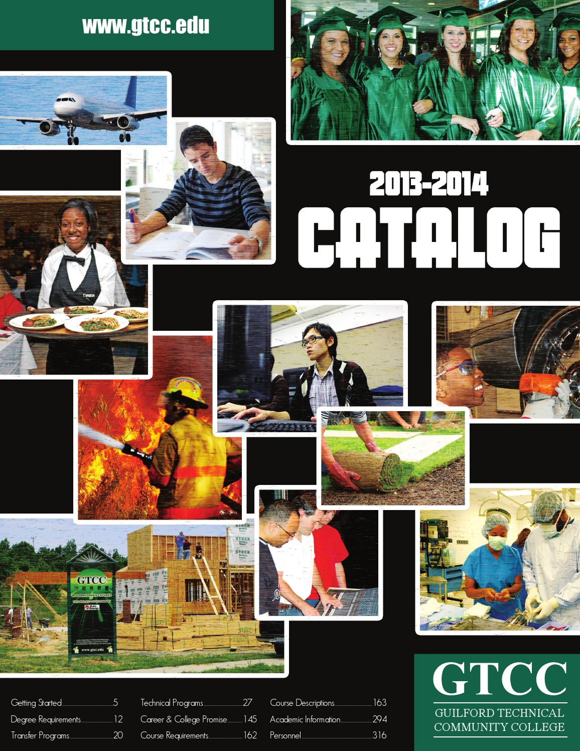 Gtcc catalog 2013 2014 by guilford technical community college issuu fandeluxe Choice Image