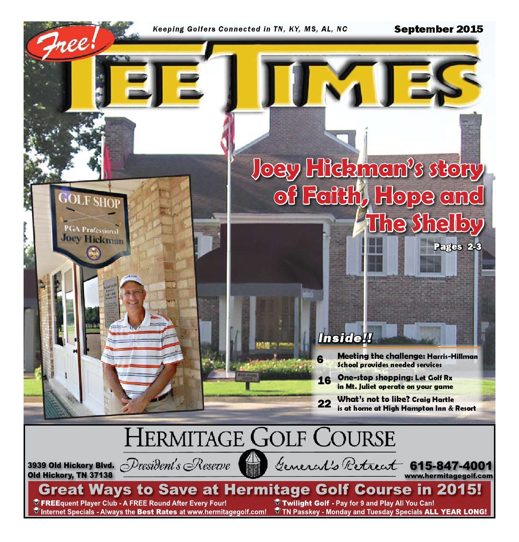 tee times september 2015 by joe hall issuu