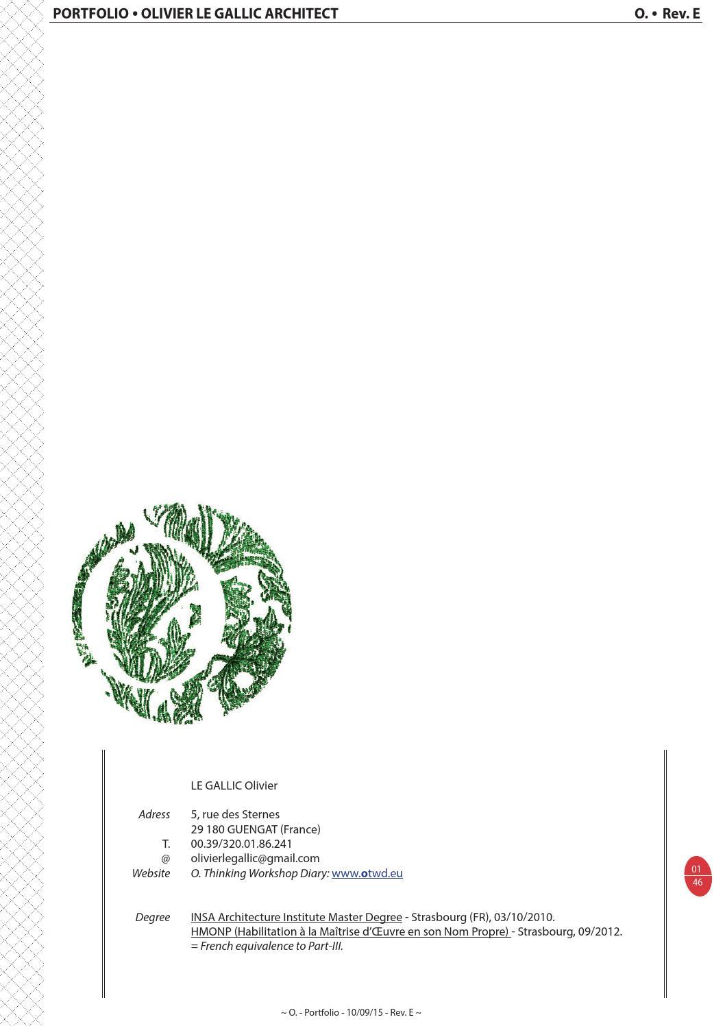 Ordre Des Architectes Amiens olivier le gallic portfolioolivier - issuu