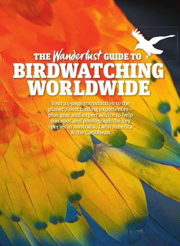 The Wanderlust Guide to Birdwatching worldwide