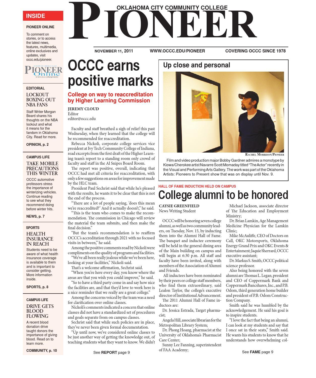 occc creative writing