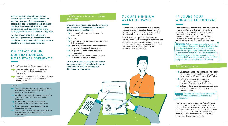 Les nouvelles règles du démarchage à domicile by MCE RENNES - issuu