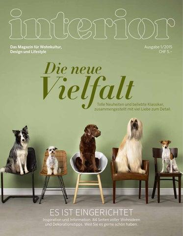 Interior Magazin Ausgabe 12015 By Interio Interio Issuu