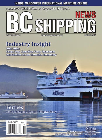 Maritime Len bc shipping october 2015 by bc shipping issuu