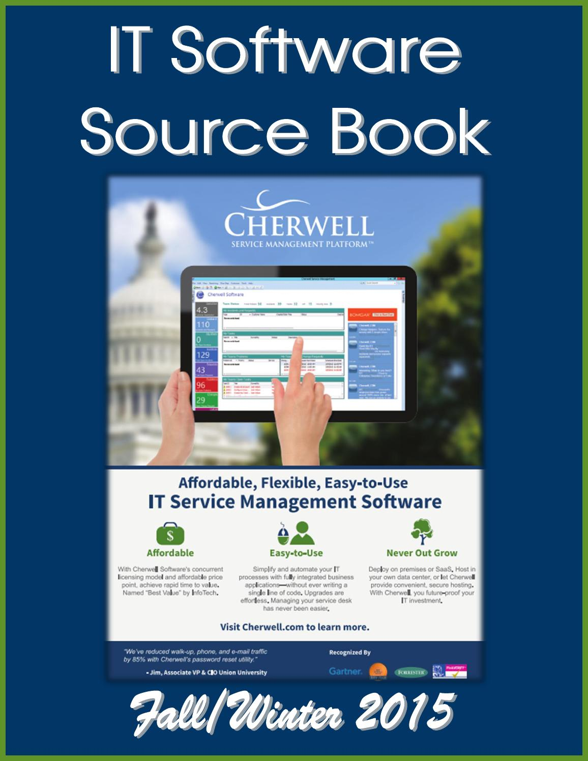 IT Software Source Book by Federal Buyers Guide, inc. - issuu