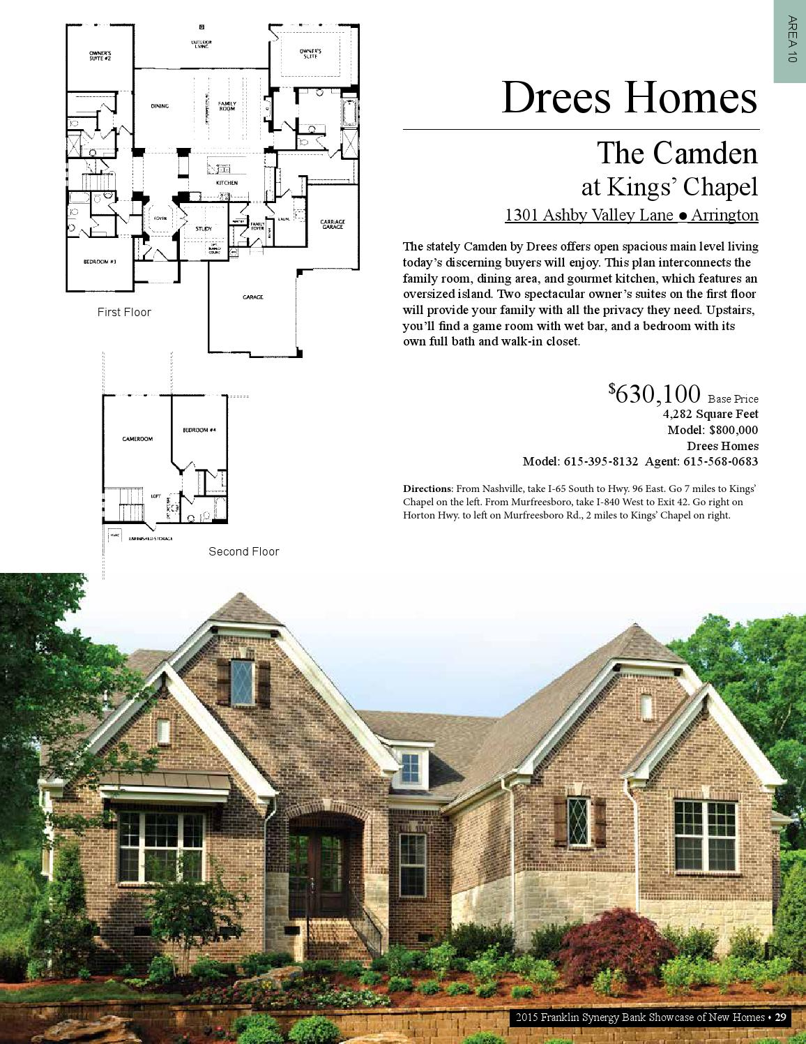 2015 SHOWCASE HOME BUYER's GUIDE by Home Builders ... on