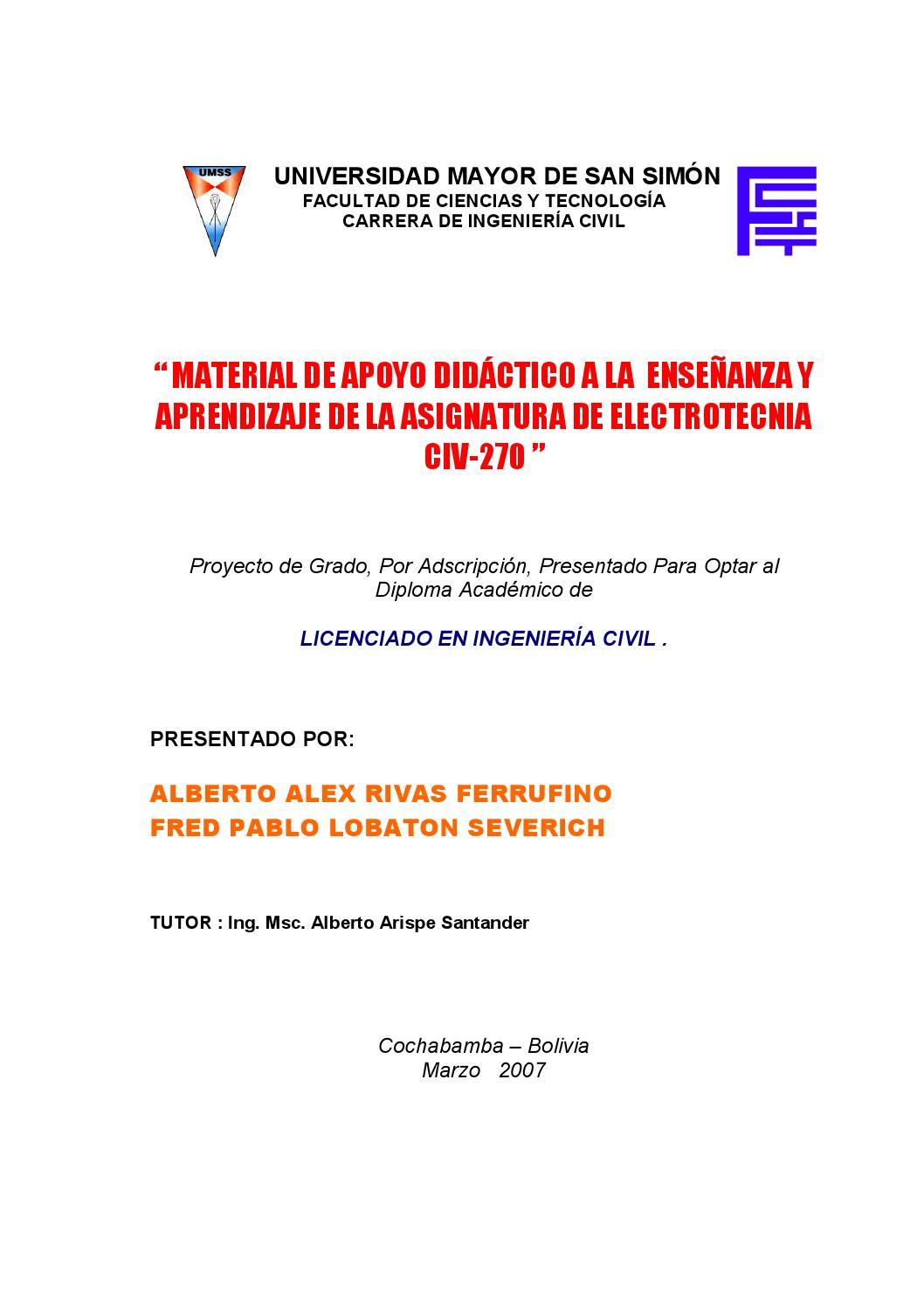 001electrotecnia by CESAR ROSADO - issuu