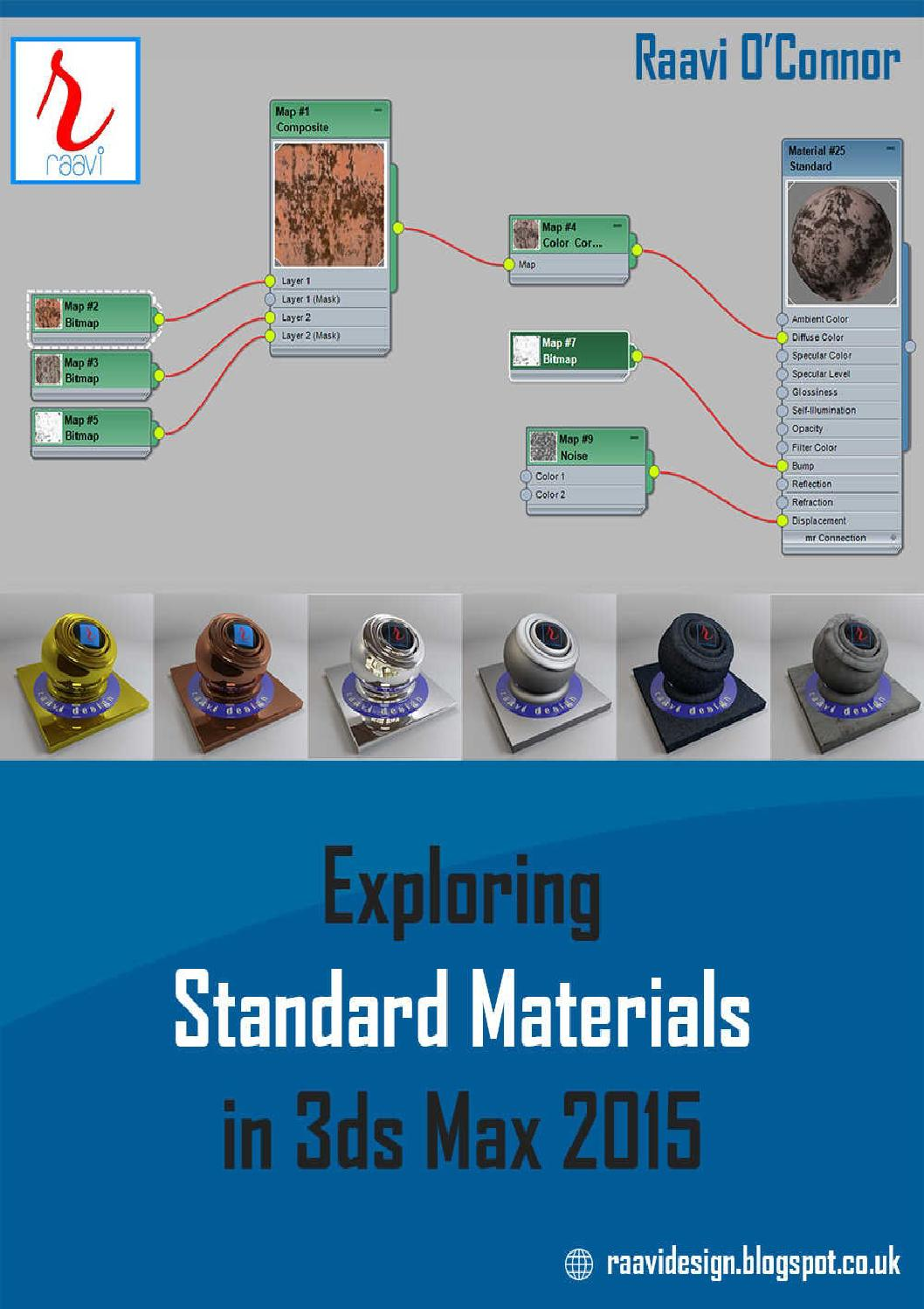 Exploring Standard Materials in 3ds Max 2015 by Olcay Seyyar