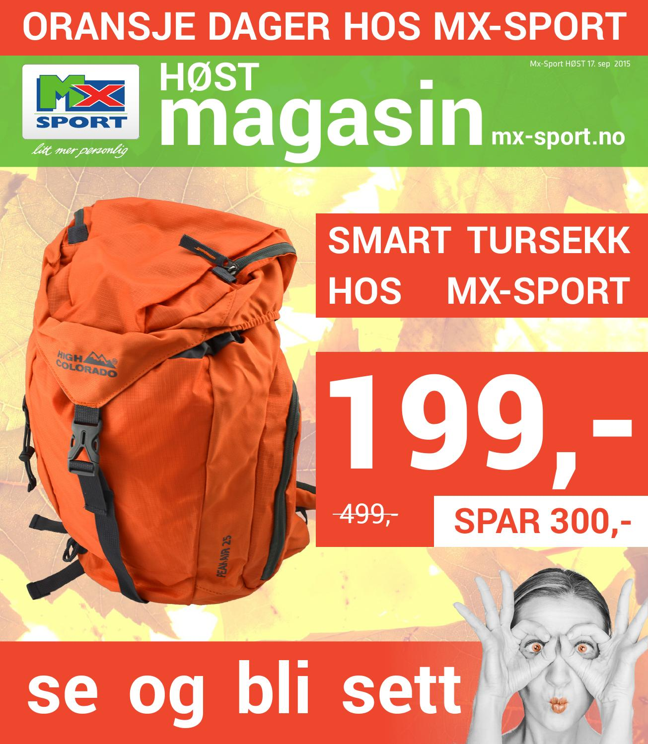 8c62a056 Mx Sport Oransje Dager by MX-Sport Norge & Fjelland Handel - issuu