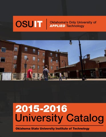 OSUIT 2015-2016 University Catalog by Oklahoma State - issuu