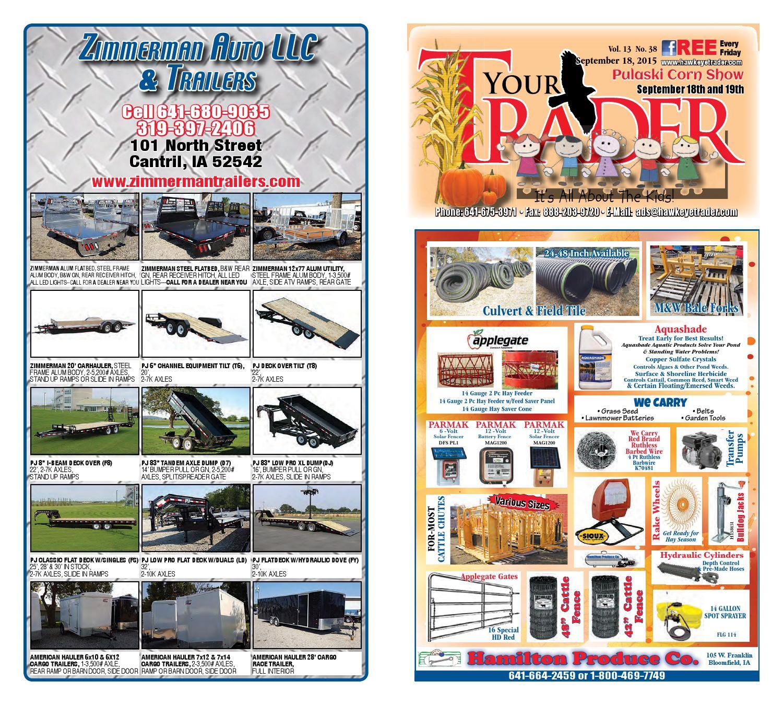 Hawkeyetrader 091815 By Hawkeye Trader Issuu Titan Toro 5200 Wiring Diagram