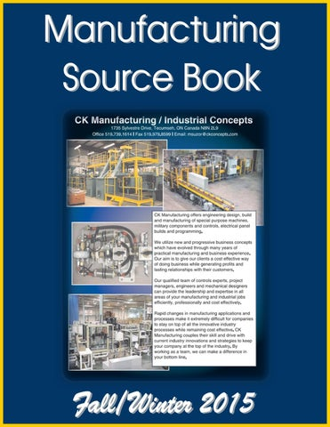 Manufacturing Source Book by Federal Buyers Guide, inc  - issuu