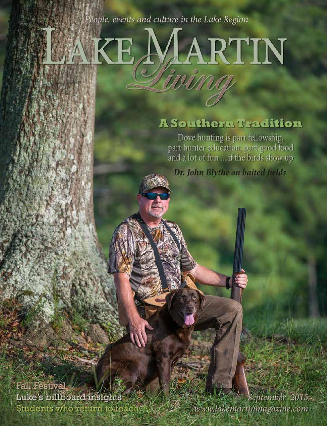 Lake Martin Living Magazine September 2015 By Tallapoosa Publishers