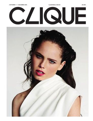ac45a25f8e6 CLIQUE Mag - Spring 2015 by Clique Mag - issuu