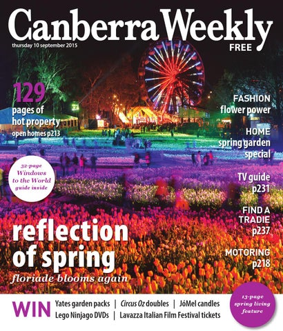 10 September 2015 by Canberra Weekly Magazine - issuu 600a533303c7