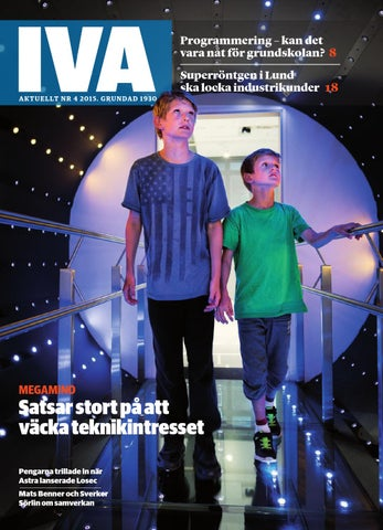 IVA Aktuellt nr 4 2015 by Kungl. Ingenjörsvetenskapsakademien 909a30586d