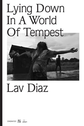 Lying Down In A World Of Tempest Lav Diaz By Courtisane Festival