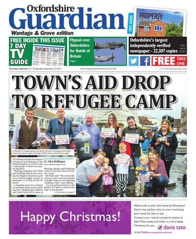 7a389e21e7 17 september 2015 oxfordshire guardian wantage by Taylor Newspapers ...