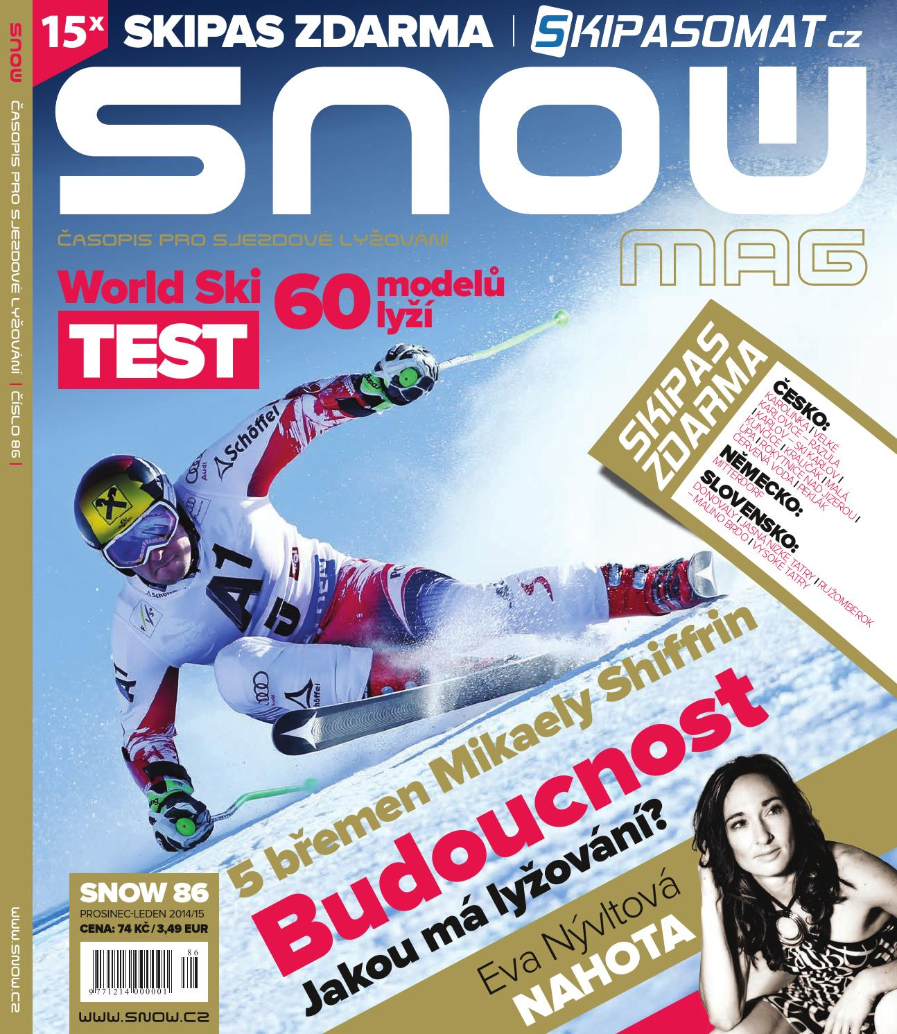 SNOW 86 - prosinec-leden 2014 2015 by SNOW CZ s.r.o. - issuu 6f71250686