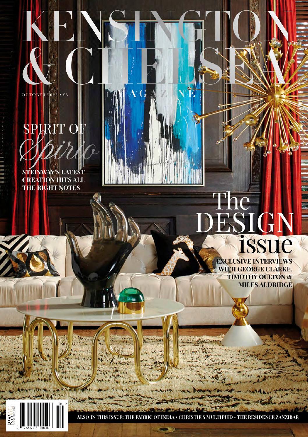 The Kensington Chelsea Magazine October 2015 By Runwild Media Group