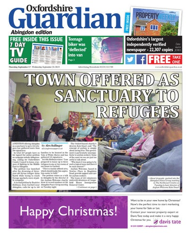 8fbff78d39 17 september 2015 oxfordshire guardian abingdon by Taylor Newspapers ...