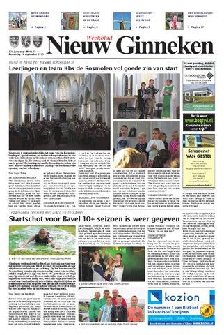 93e9e892efe71d Weekblad Nieuw Ginneken 16-09-2015 by Uitgeverij Em de Jong - issuu