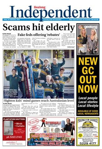 Geelong Independent - 18th September 2015
