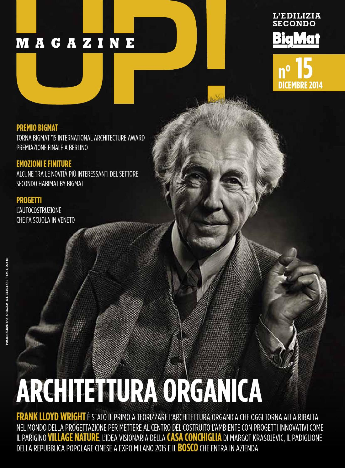 Up n 15 dicembre 2014 by bigmat issuu for Frank lloyd wright piani casa in vendita