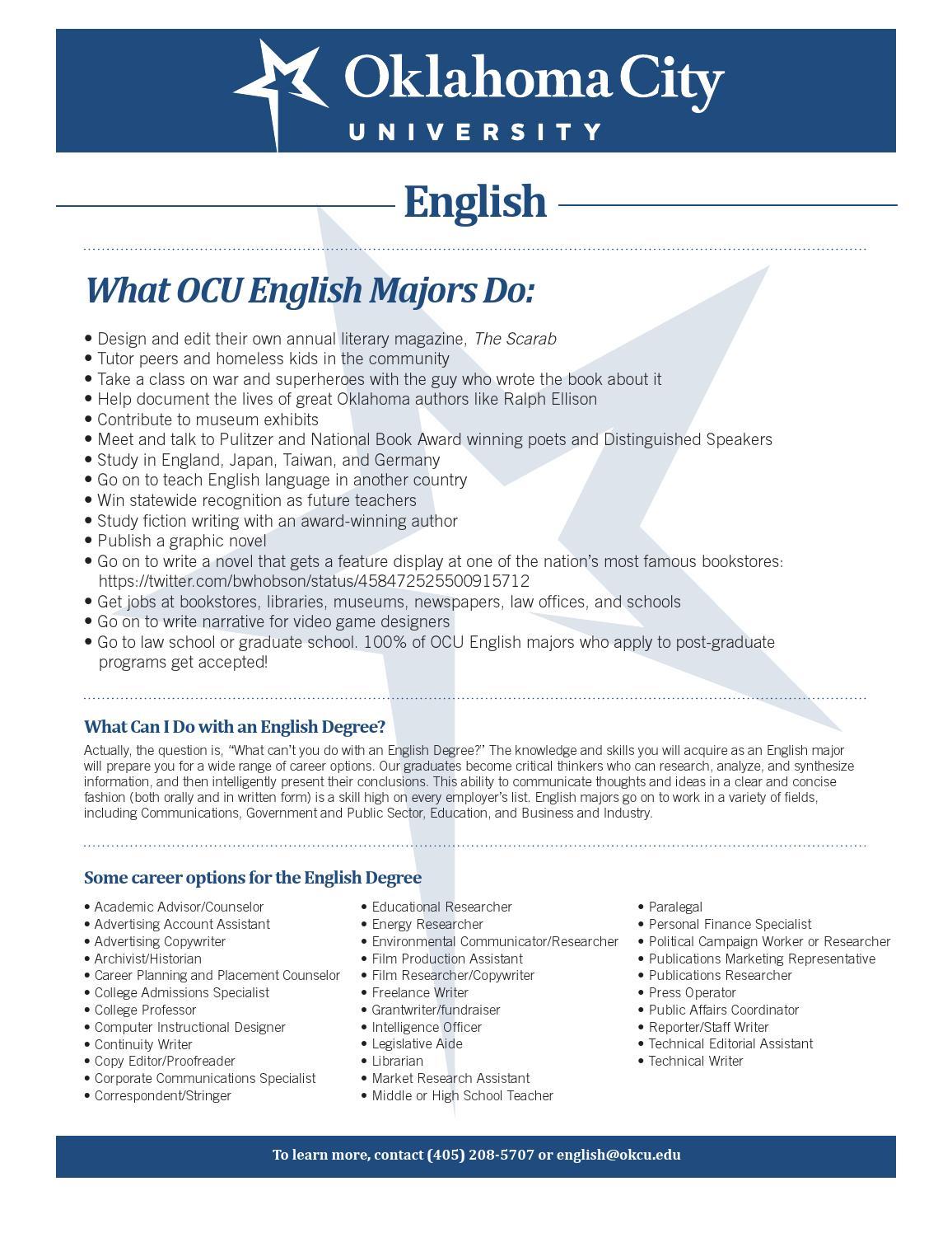 OKCU English