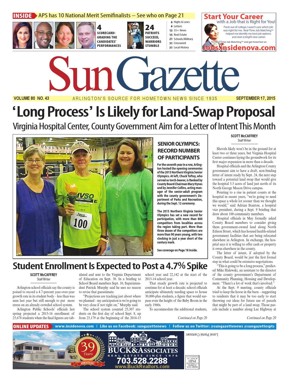 2599bcf7dfe0f2 Sun Gazette Arlington September 17