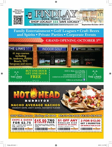 September October 2015 by Findlay Town Money Saver - issuu