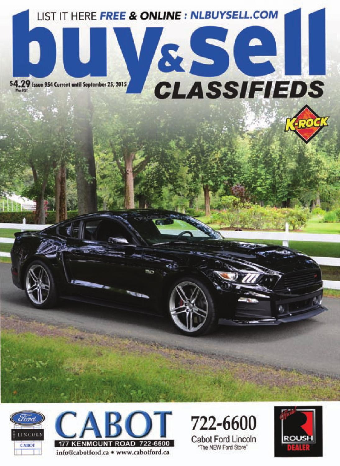 The Buy Sell Magazine Issue 954 By Nl Issuu Intermittent Stalling Problem 8211 Troubleshooting Car Ignition Systems