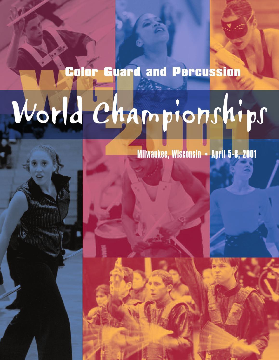 Articles about color guard - 2006 Wgi Color Guard World Championships Program By Wgisportofthearts Issuu