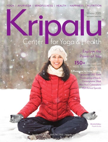 Winter 2015 2016 Catalog 101 By Kripalu Center For Yoga Health