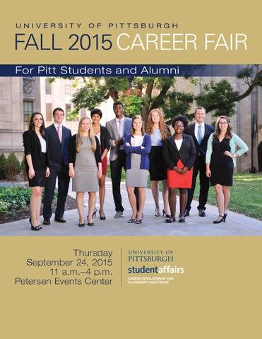 University of Pittsburgh Career Fair 2015 by University of