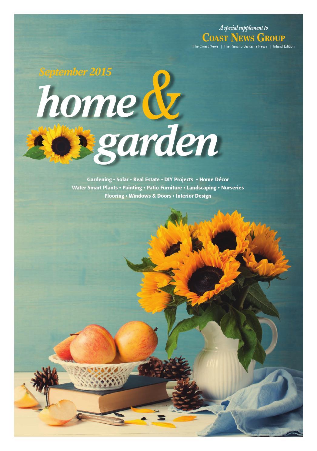 Fall Home Amp Garden 2015 By Coast News Group Issuu