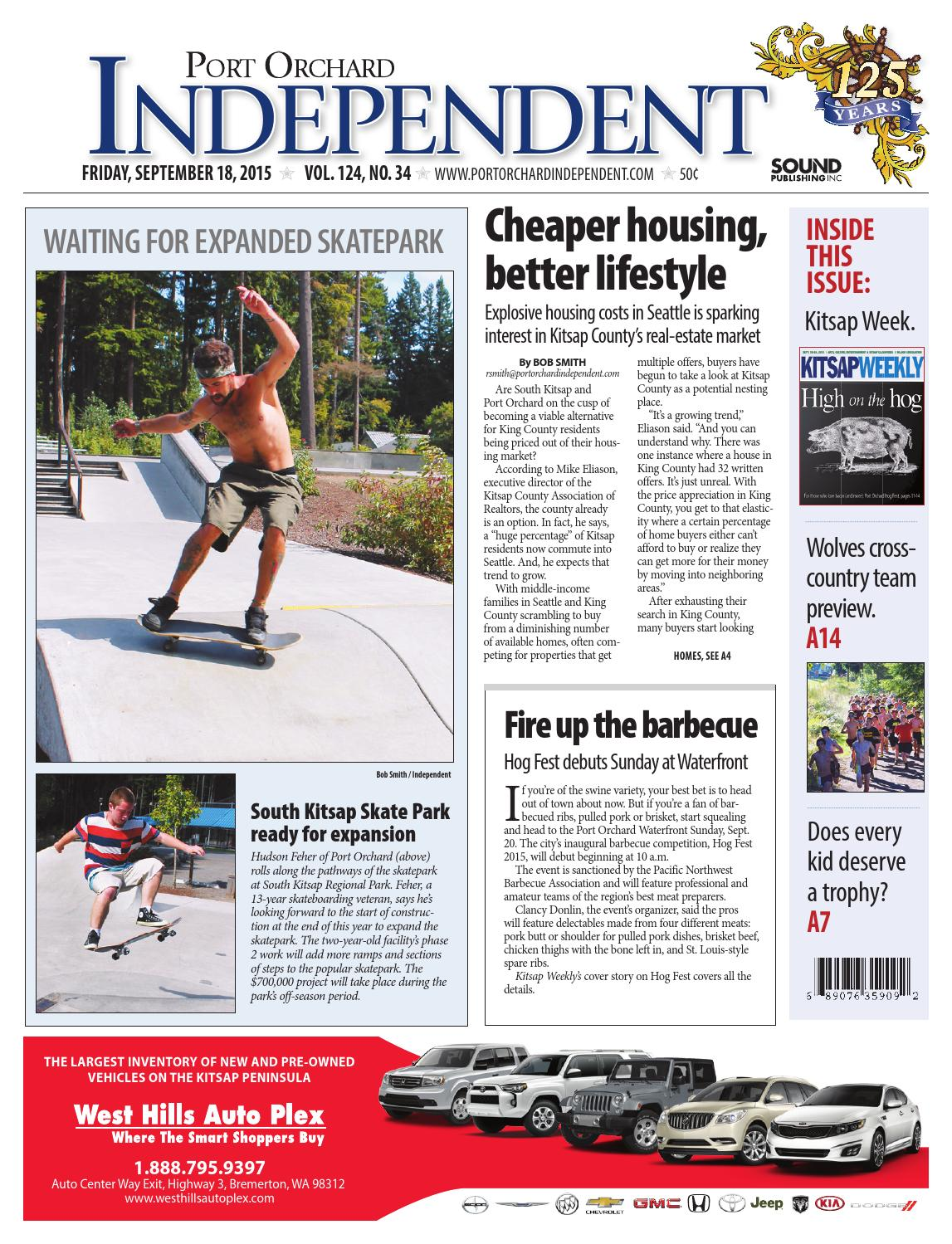 port orchard independent, september 18, 2015 by sound publishing