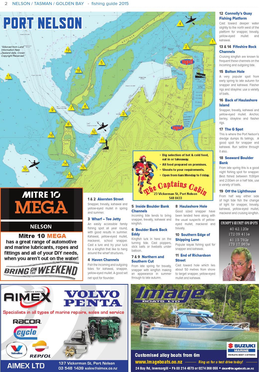 Fishing Guide - Nelson Tasman Golden Bay by The Fishing