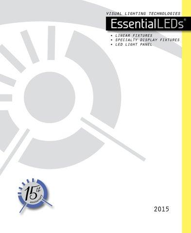 Page 1. visual lighting technologies  sc 1 st  Issuu & EssentialLEDs Catalog 2015 by Visual Lighting Technologies - issuu