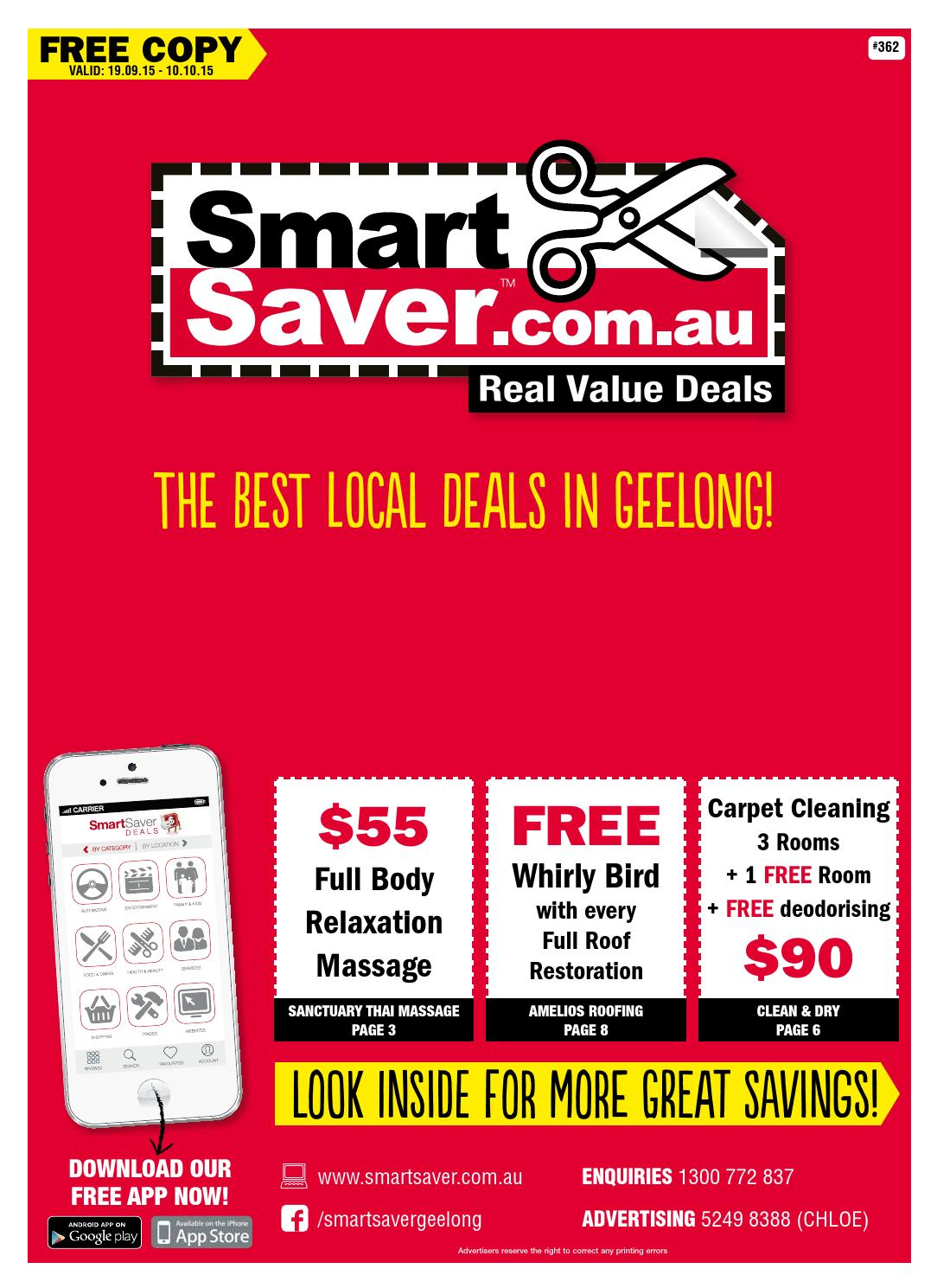 smart saver geelong issue 362 by smart saver real. Black Bedroom Furniture Sets. Home Design Ideas
