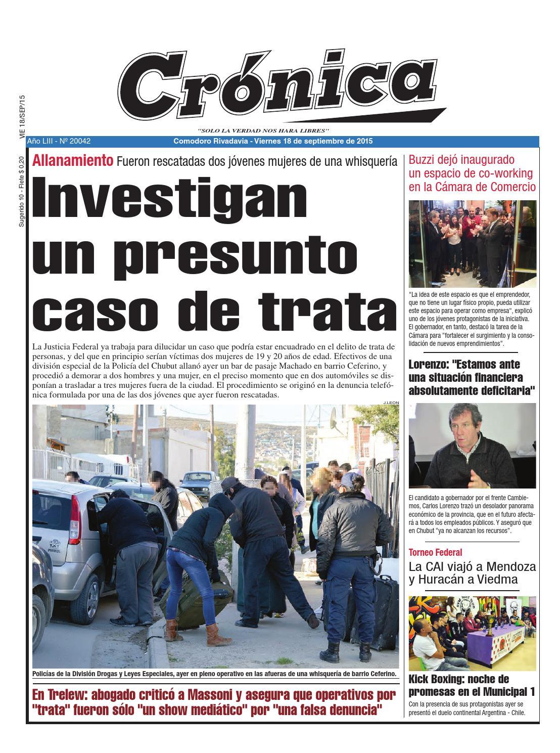 464e94f6d42 4db4b0b23e97b946a274cca1dd83042b by Diario Crónica - issuu