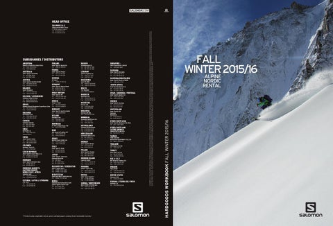 3e44a53a2bc7 Salomon Catalog 2016 hardgoods by snowsport snowsport - issuu