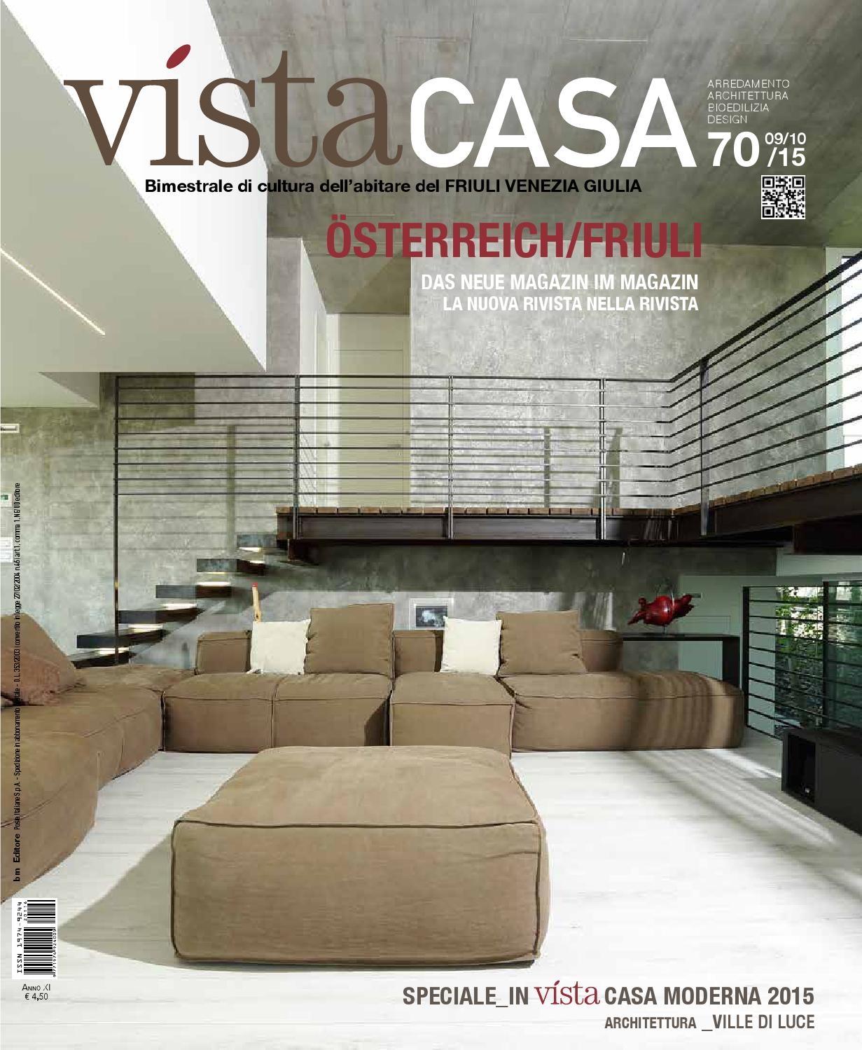 Vistacasa n 70 by vistacasa by bm editore issuu for Casa moderna ud
