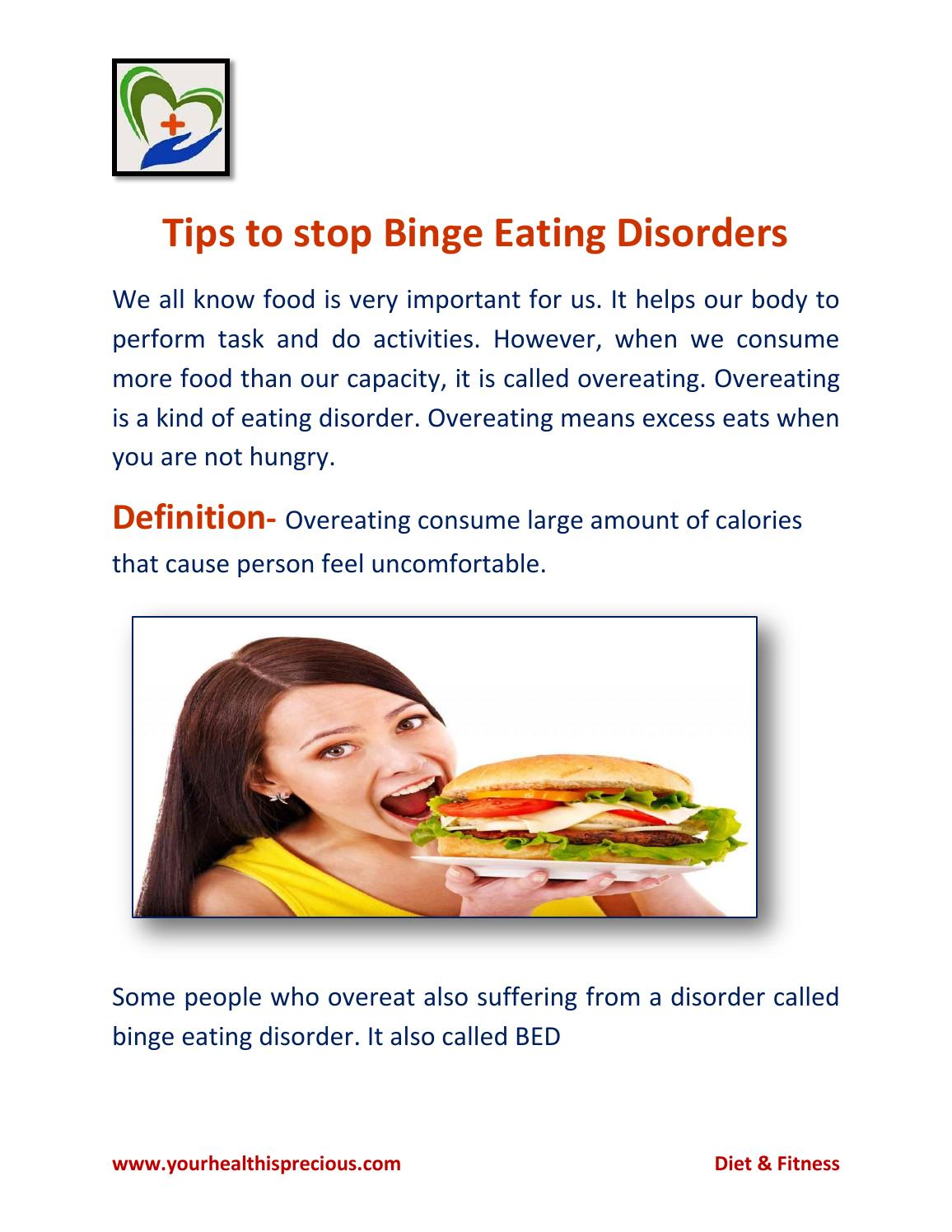tips to stop eating disorders by yourhealthisprecious - issuu
